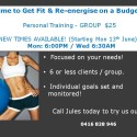 Group Fitness in St Leonards, NSW